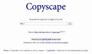 Copyscape optimizar web blogcontenido duplicado