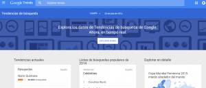 trends palabras clave seo