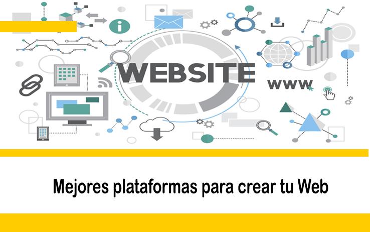 Las mejores plataformas para crear tu página web o blog