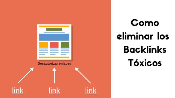 eliminar backlinks toxicos